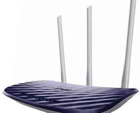 Router tp-link Archer C20 AC750 300 + 433 Mbps 3 Antenas - Azul|Blanco