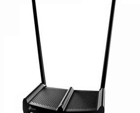 Router tp-link TL-WR841HP 300 Mbps 2 Antenas - Negro