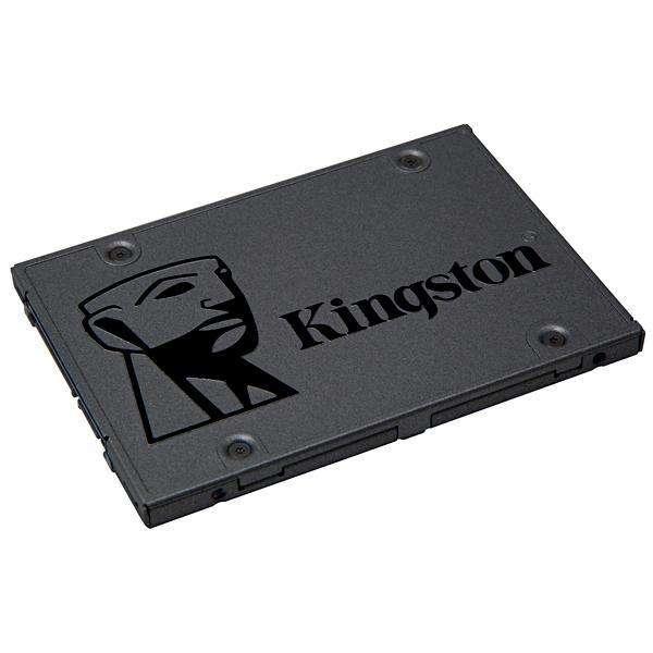 SSD 120GB Kingston A400 SA400S37|120G 500MB|s de Leitura - Gris - 0