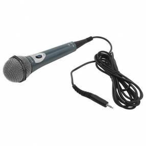 Micrófono Dinâmico Philips SBC MD150|00 3.5|6.3 mm Cabo de 3 m Control de Volume - Negro