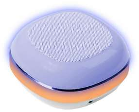Speaker Roadstar Box 3W con Bluetooth|SD Bateria de 550 mAh - Blanco|Dorado