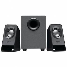 Speaker Logitech Z211 con USB Mini Jack 3.5 mm - Negro