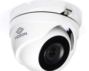 Cámara de Vigilancia CFTV VIZZION VZ-DD8T-ITM Lente 3.6 mm - Blanco