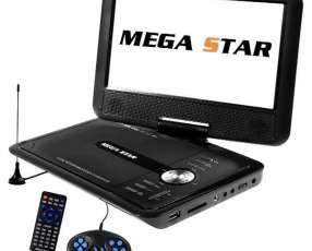 DVD Portátil MegaStar DVD-9880 Tela 9.8