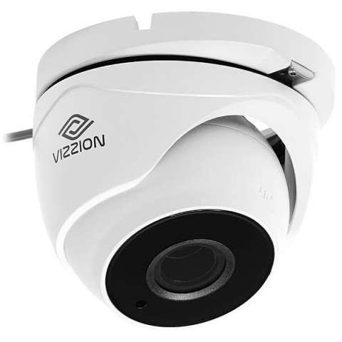 Cámara de Vigilancia CFTV VIZZION VZ-DH1T-IT3Z Lente 2.8 - 12 mm - Blanco