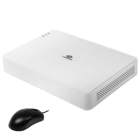 DVR VIZZION VZ-16QK3 de 16 Canais con HDMI|USB|Ethernet Bivolt - Blanco