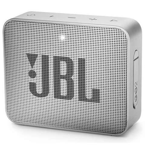 Speaker JBL GO 2 con Bluetooth Auxiliar Batería de 730 mAh - Gris