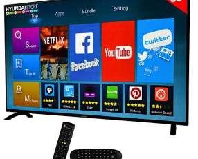 Smart TV LED de 50 pulgadas Hyundai HY50ATFA Full HD Wi-Fi|HDMI|USB con Conversor Digital