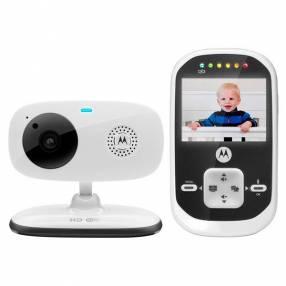 """Baby call Digital Motorola MBP-662 Wi-Fi 2.4GHz de 2.4"""" y Visión Nocturna - Blanca"""