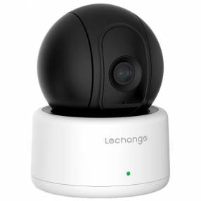 Cámara IP Wireless Lechange IPC-A12P Wi-Fi 720p Visão Noturna - Blanca Negra
