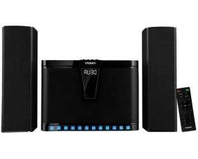 Home Cinema Satellite AS-9956 90 watts RMS con Bluetooth USB SD Bivolt - Negra