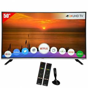 "Smart TV LED de 50"" Hyundai HY50NTUB Ultra HD con Wi-Fi