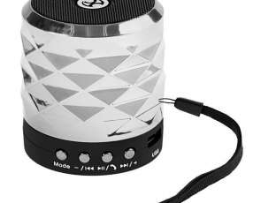 Speaker MOX MO-S1023 watts con Bluetooth|USB|Slot para Micro SD - Plateado