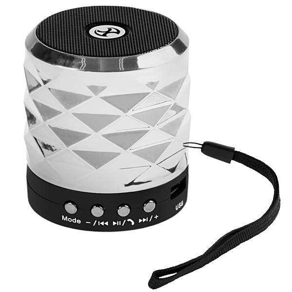 Speaker MOX MO-S1023 watts con Bluetooth|USB|Slot para Micro SD - Plateado - 0
