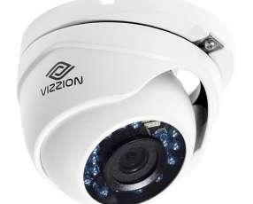 Cámara de Vigilancia CFTV VIZZION VZ-DC0T-IRMF Lente CMOS 2.8 mm - Blanca