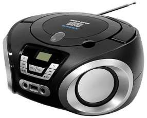 Micro Sesten MegaStar MP-1842BT con Bluetooth|USB|CD|FM Bivolt - Negro