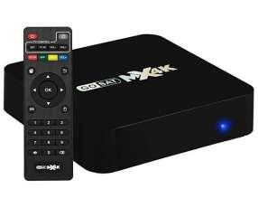 TV Box GoSat MX4K GS-216 Wi-Fi|LAN eMMC 16GB + 2GB RAM Bivolt - Negro