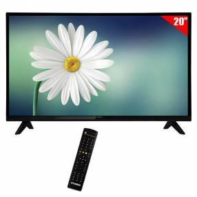 "TV LED 20"" Heundai HY20DTHA HD HDMI|VGA|USB con Conversor Digital - Negra"