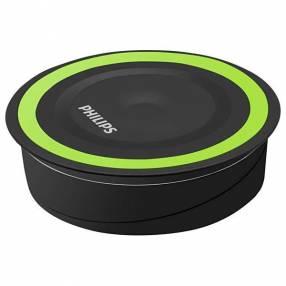 Cargador Wireless Philips DLP9115 10 Watts para Smartphones - Negro Verde