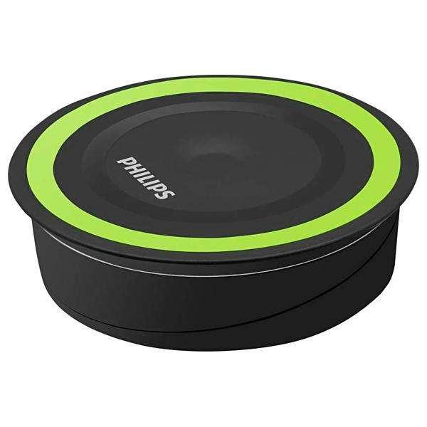 Cargador Wireless Philips DLP9115 10 Watts para Smartphones - Negro|Verde - 0