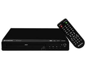 Reproductor de DVD MOX MO-DVD931 con Karaoke|USB Bivolt - Negro