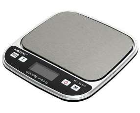 Balanza Digital de Bolsillo para Joias MOX MO-BL300 para hasta 300 g - Plateado|Negra