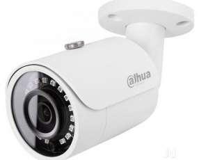 Cámara de Vigilancia CFTV Dahua DH-HAC-HFW1200SP-0280B-S3A Lente 2.8mm - Blanca