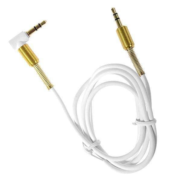 Cable Auxiliar MOX MO-AUX01 1 Metro - Blanco|Dorado - 0