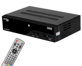 Conversor de TV Digital ISDB-T Premiumbox PB-2999ISDB Full HD con |HDMI|USB|Bivolt - Negro