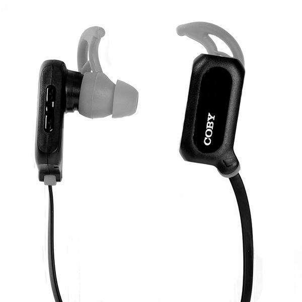 Audífono Wireless Coby CBE102 con Bluetooth|Micrófono - Negro|Gris - 0