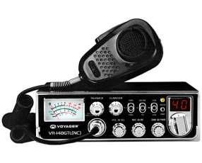 Radio PX Voeager VR-148GTL (NC) de hasta 40 Canais - Negro