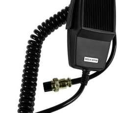 Radios PTT MegaStar KT2018-11-3717 con Conector de 5 Pinos - Negro