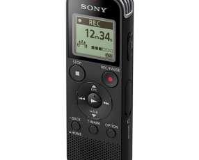 Grabador de Voz Sony ICD-PX470 4GB con USB para hasta 159 Horas de Gravação - Negro