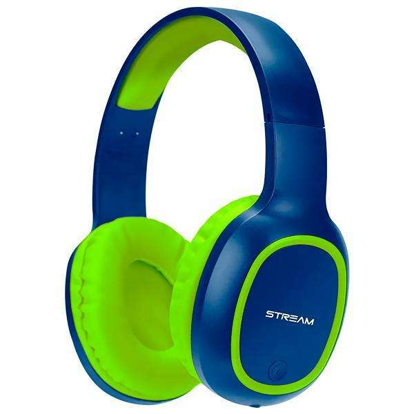 Auriculares Wireless ELG EPB-MS1NB con Bluetooth|Micrófono - Azul|Verde - 0