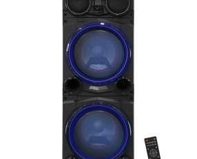 Parlantes Karaoke Aiwa AWPOC10 2.500 watts Bluetooth USB Bivolt - Negra