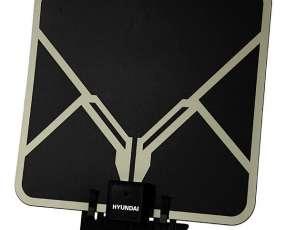 Antena de TV Heundai HYANT3916A con Recebimento VHF|UHF Bivolt - Negro