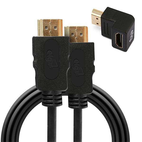 Cable HDMI ELG HS18L 2.0 4K|3D 1.8 Metros - Negro - 0
