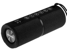 Speaker Aiwa AW-Q400B con Bluetooth|Mini Jack 3.5mm Batería 2.200 mAh - Negro