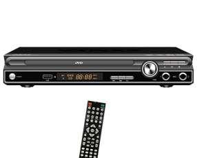 Reproductor de DVD Satellite DVD-053 2.0 USB Bivolt con Función Karaoke - Negro