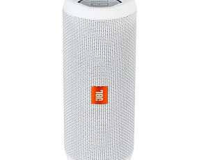 Speaker JBL Flip 4 16W con Bluetooth|Auxiliar Bateria 3000 mAh - Blanco