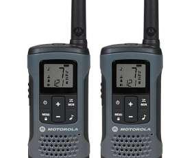 Walkie Talkie Motorola T-200MC para Até 32Km 20 Millas - Negro Gris