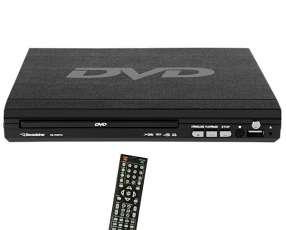 Reproductor de DVD Roadstar RS-705DVD con USB|A.V Bivolt - Negro