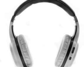 Auriculares Wireless Cobe CBH103 con Bluetooth|Micrófono - Blanco|Gris
