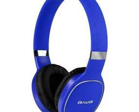 Auriculares Wireless Aiwa AW2 Pro con Bluetooth|Micrófono - Azul