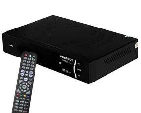 Receptor FTA Freeske The Rock Zion Wi-Fi Full HD - Negro