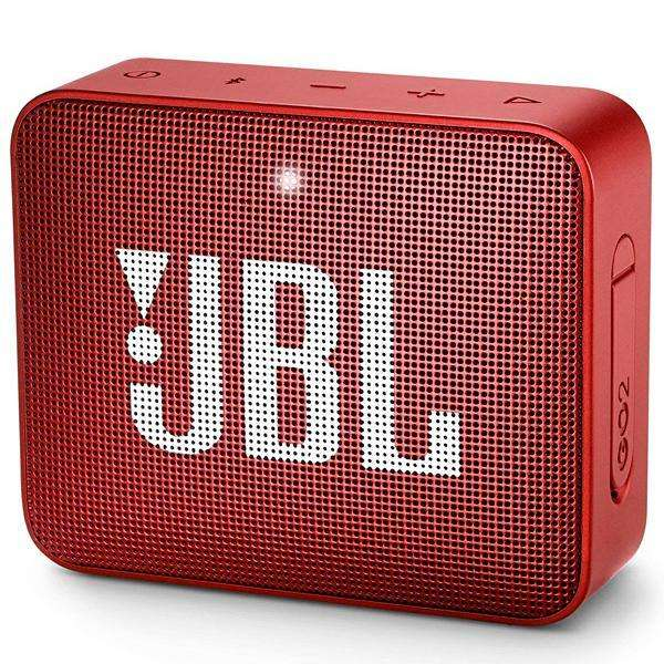 Speaker JBL Go 2 con Bluetooth|Auxiliar Bateria de 730 mAh - Rojo - 0