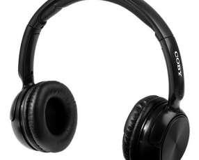 Auriculares Wireless Cobe CBH106 con Bluetooth|Micrófono - Negro