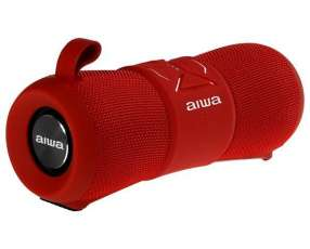 Speaker Aiwa AW2-WPF con Bluetooth Micrófono Bateria 2.000 mAh - Rojo