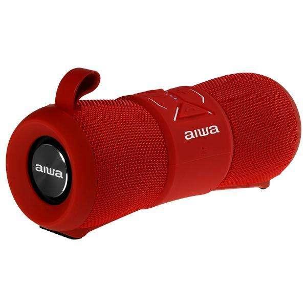 Speaker Aiwa AW2-WPF con Bluetooth|Micrófono Bateria 2.000 mAh - Rojo - 0