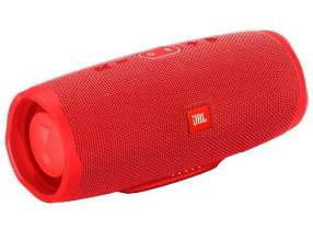 Speaker JBL Charge 4 30 watts RMS con Bluetooth|USB Bateria 7.500 mAh - Rojo